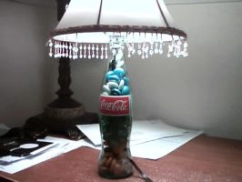 The Coke Lamp by Cactopus