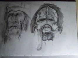 King of Dead and Uruk Hai by Omgazm
