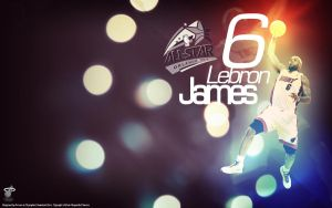 Lebron James 2012 Wallpaper by drgraphic