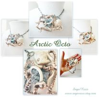 Arctic Octo showpiece necklace by SugarRoxx