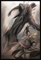 The Last Giant (Dark souls 2). by Paper-pulp