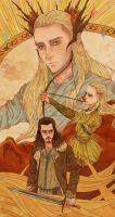 the hobbit fanart by AlmightyAkila