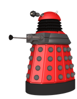 Red Dalek Render Pack by cgartiste