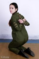 Army Girl Bondage 13 by D-ZHANG-PHOTOGRAPHY