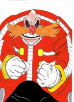 Robotnik in Eggman atire by UltimateFrieza