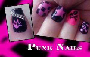 Punk Nails by uutopicaa