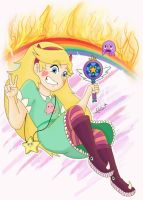 Star VS The Forces of evil / Star Butterfly /FanAr by karlss123