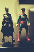 Batwoman And Superwoman by Neville6000