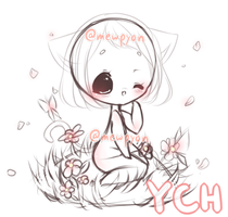 YCH Chibi Auction [CLOSED] by Mewpyonadopts