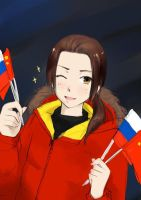 China -Sochi Winter Olympics by Shandyrun