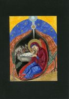 Christmas Card 8 - Nativity of the Christ by Bombadyl