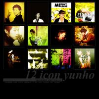56. 12 icons Yunho by NGUYENew-is-me