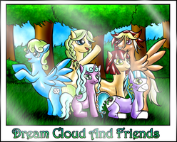 DreamCloud And Friends by Daiasita