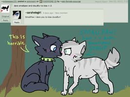 SMALLPAW Dare 1: Incestshipping by ask-female-scourge