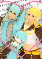 Sisters vocaloid by mila-tiemy