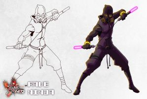 The Rave Ninja by CLE2