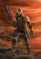 Fallout New Vegas Dude by alienomega
