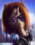 Hipster Pony by Wylfden