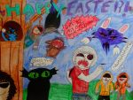 Happy Easter! by Bloodbender10
