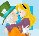 The Mad Hatter and Alice by Tell-Me-Lies