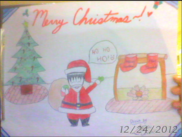 New Christmas Special! Cartoon Drawing by LemonLil