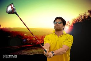 Hank Moody and Golf by faroutski