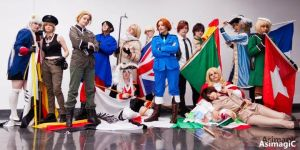 APH- Japan Expo groupe by KAMIxSAMA
