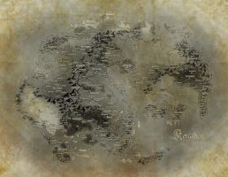Kerathem World Map by ai56