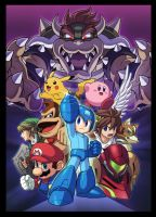 SSB Megaman appearance picture by Pokemon2006