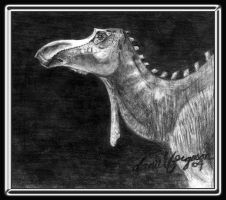 Maiasaura Bull by Sainte-Vincient