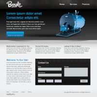Boiler Website by ipholio