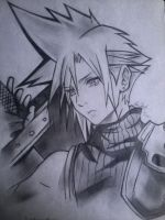 Cloud FF Dissidia by PhantomButler