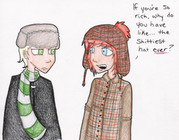 Ron 1. Draco 0. by BloodThirstyZompire
