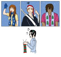 Bleach Christmas by jackal-god