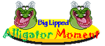 A BIG LIPPED ALLIGATOR MOMENT by Kiss-the-Iconist