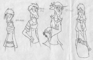 Character Concept - Anette by Teh-Gardy