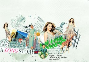 Leighton Meester No.12 by O-V-V-O