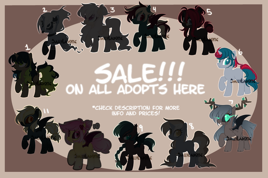 ADOPTABLE SALE! [2/11 OPEN] by SallyLapone
