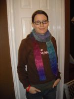 10 ft. Noro Fishnet Scarf by holls