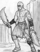 kratos by arepa999