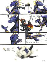 Comic: The most epic battle by Leithster