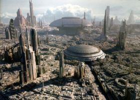 Coruscant by thaifx