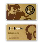Dj business card by dadoo-freelance
