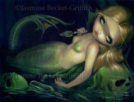 Absinthe Mermaid by jasminetoad