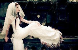 Cemetery bride by Mousellyca