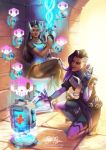 Symmetra and Sombra by Risachantag