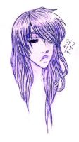Cold Beauty - Kouji Headsketch by SirHavin