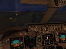 Taxi For Takeoff At San Fransisco Int'l Airport by Dj-Equestrian-LP-Fan