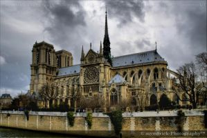 Notre Dame cathedral 0638n by mym8rick