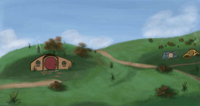 THE SHIRE by TheComicChick